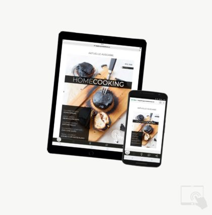 magazin.gourmetathome.ch<br>Mobile App & Digital Magazine für Tablet und Phone
